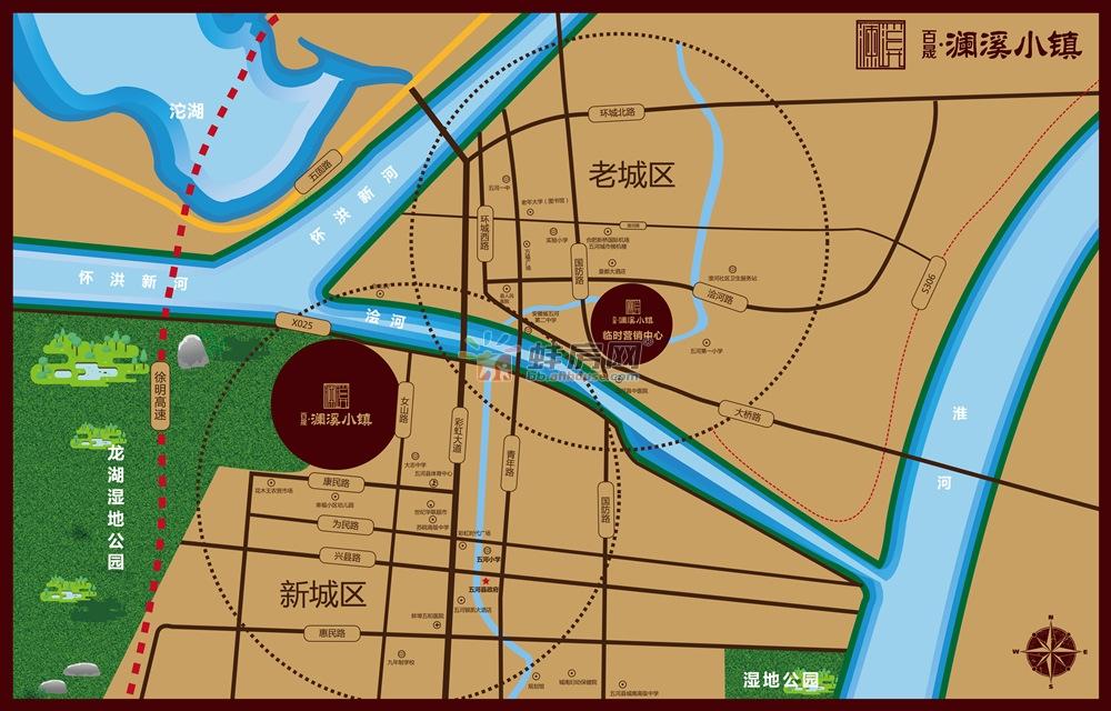 百晟·澜溪小镇交通图