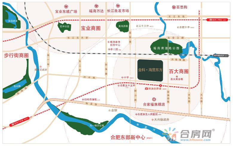 金科海昱东方交通图