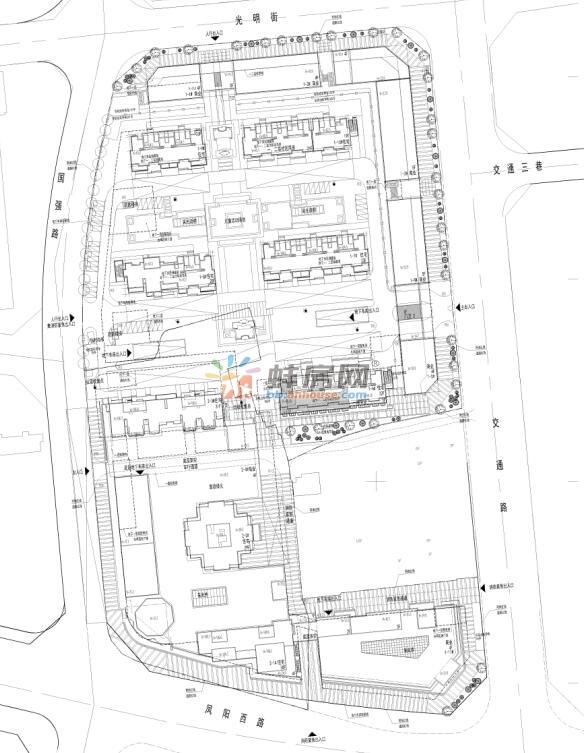 蚌埠东鼎名人府邸及老华联地块公示 将建高层住宅
