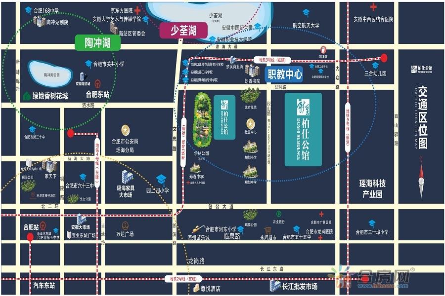 绿地新里·柏仕公馆交通图