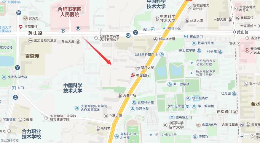 金水地产蜀山区W1701号地块交通图