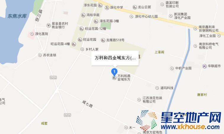 万科和昌金域东方交通图