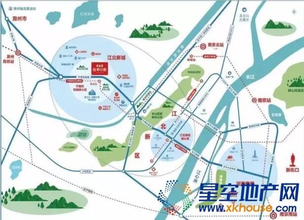 碧桂园晚亭印象交通图
