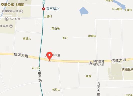 中骏六号街区交通图