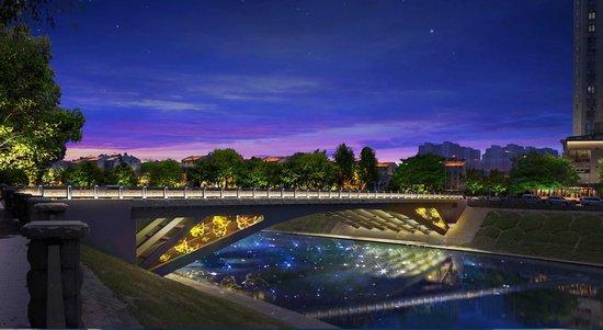 """南淝河城区段各座桥梁将实现""""一桥一景一主题"""""""