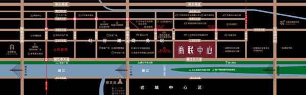 商联中心交通图