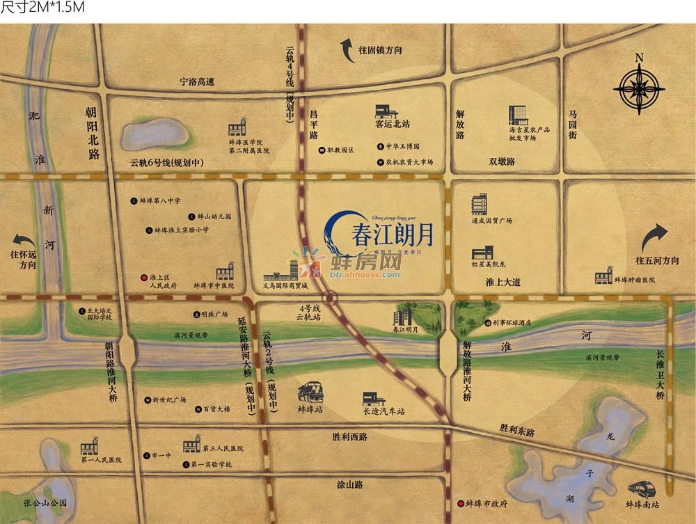 春江朗月交通图