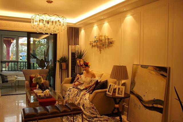西子曼城:105㎡温馨生活舒适之家