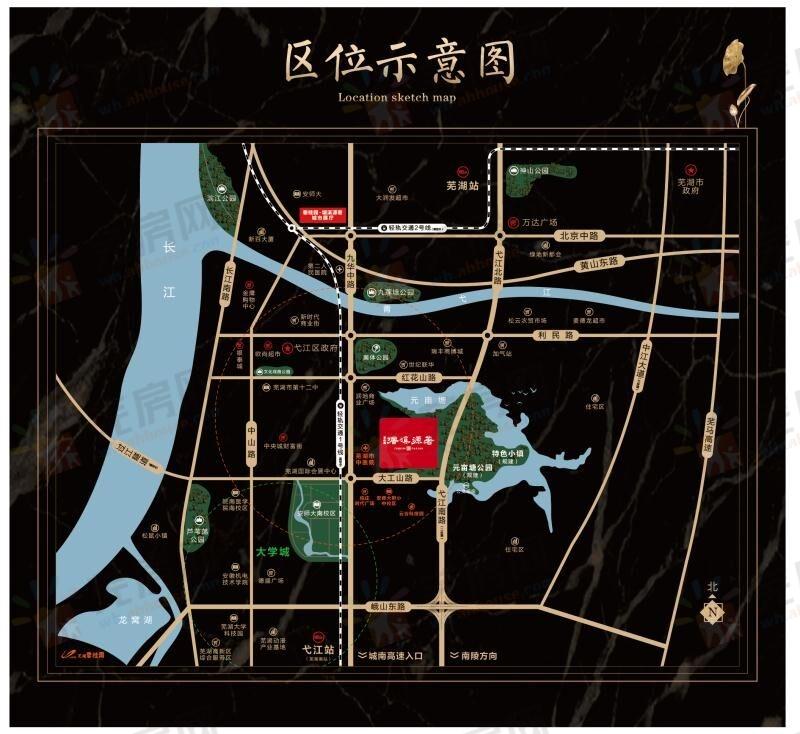 碧桂园塘溪源著交通图