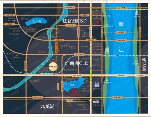 融创前湖道交通图