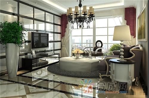 156平米公寓新古典风格装修效果图