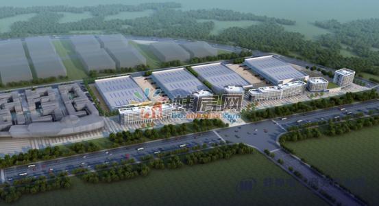 蚌埠电子商务产业园楼号图