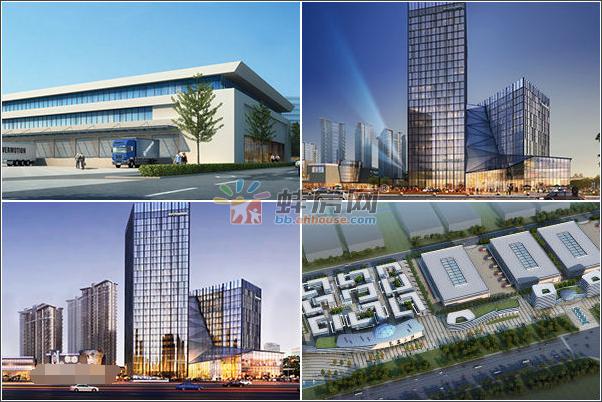 蚌埠电子商务产业园效果图