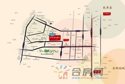 奥园誉峯交通图