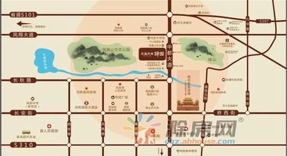 通和凤凰熙岸交通图