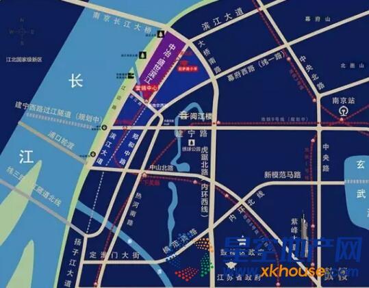 中冶盛世滨江交通图