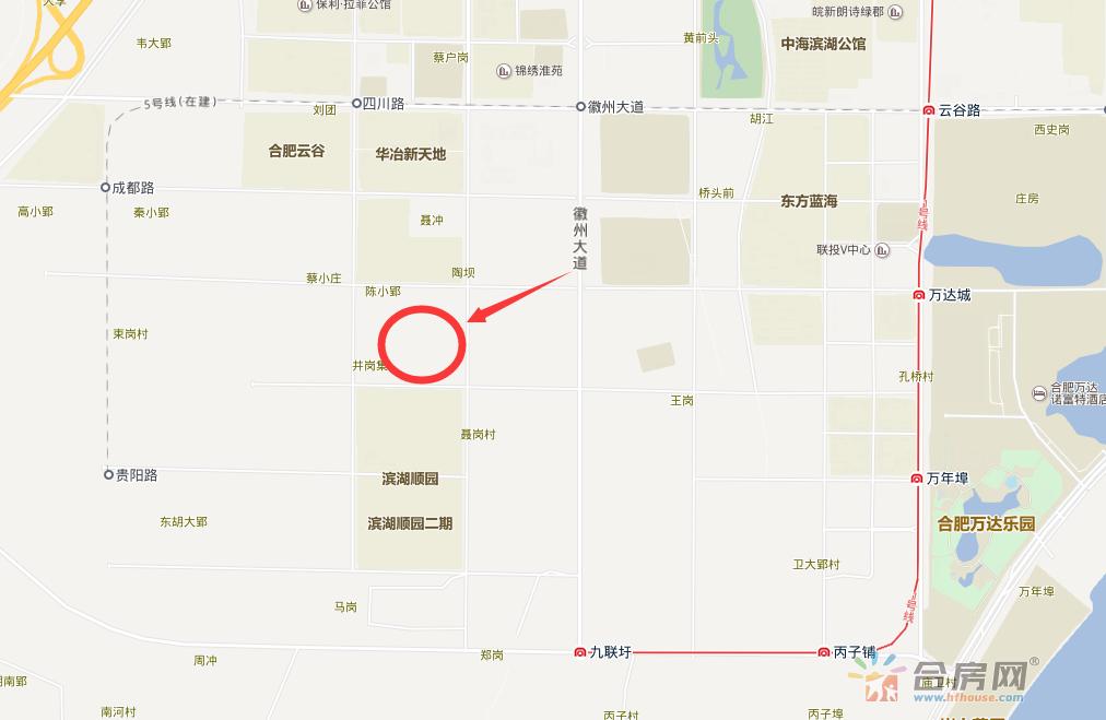 滨湖资产管理BH2017-02-B地块交通图