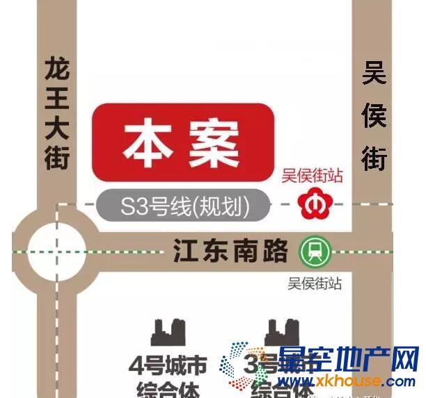 金地中心菁华交通图