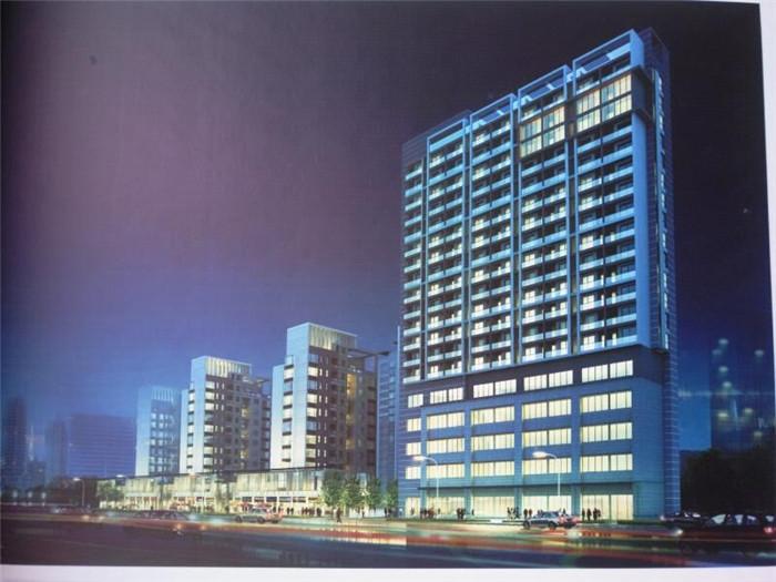 岸上蓝山公寓效果图