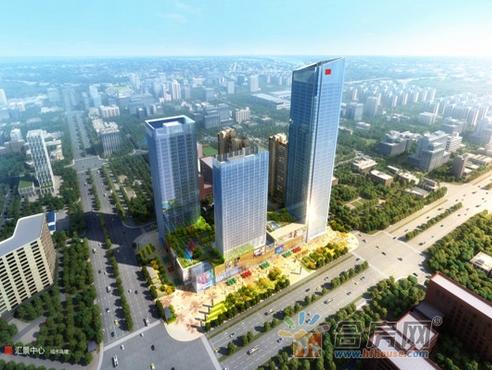 【汇景城市中心】11月工程进度 商业正在建设