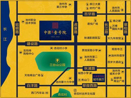 中梁·壹号院交通图