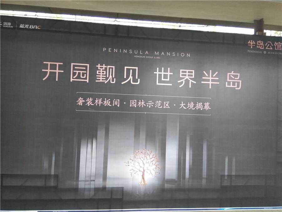 【蓝光半岛公馆】奢装样板间揭幕!