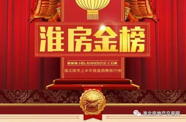 淮北1-11月销售排行 12550套原来这些房子最火
