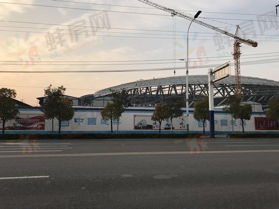 """蚌埠体育中心明年3月竣工 这些楼盘""""身价""""看涨"""