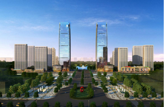 绿地中央广场:城市中轴 云端之上 商务办公新领地蓄势待发