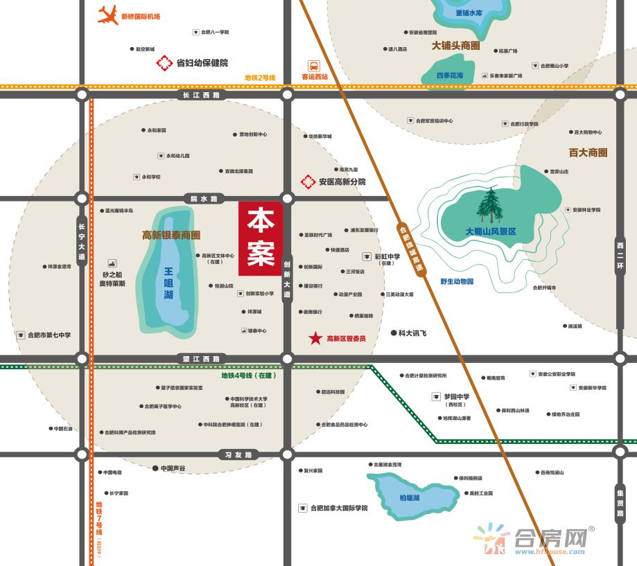 博纳向日葵交通图