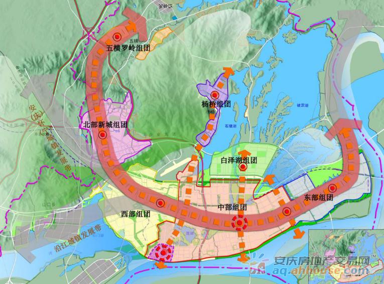 安庆城市发展方向