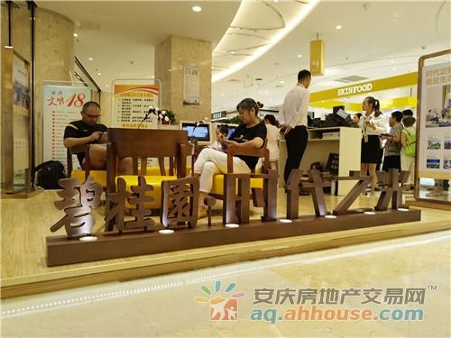 安庆碧桂园时代之光八佰伴展厅