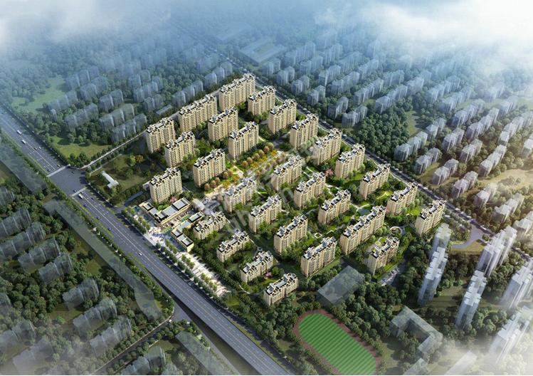 华强江城九里楼号图