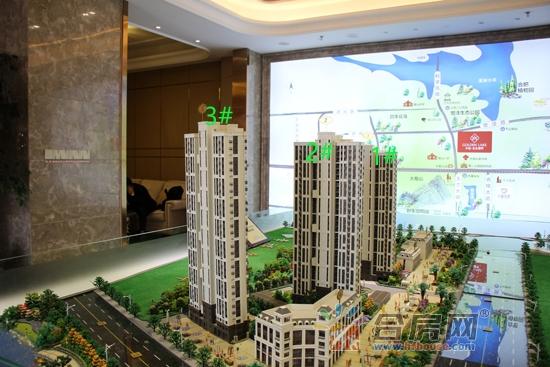 【幸福金色湖畔】3月实探 3栋高层均已封顶