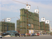 恒大珺睿府 3月工程进度 一期项目主体在建