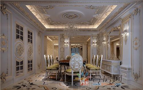 四室三厅240平米别墅欧式风格装修效果图