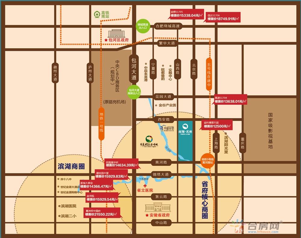南翔·茗座交通图