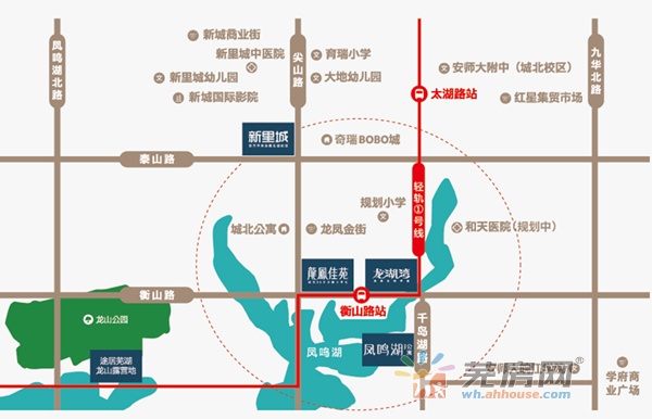龙凤佳苑交通图