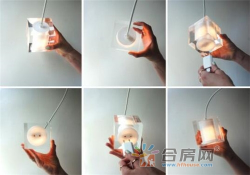 创意多功能插座吊灯,随时暴露在灯光下的便捷