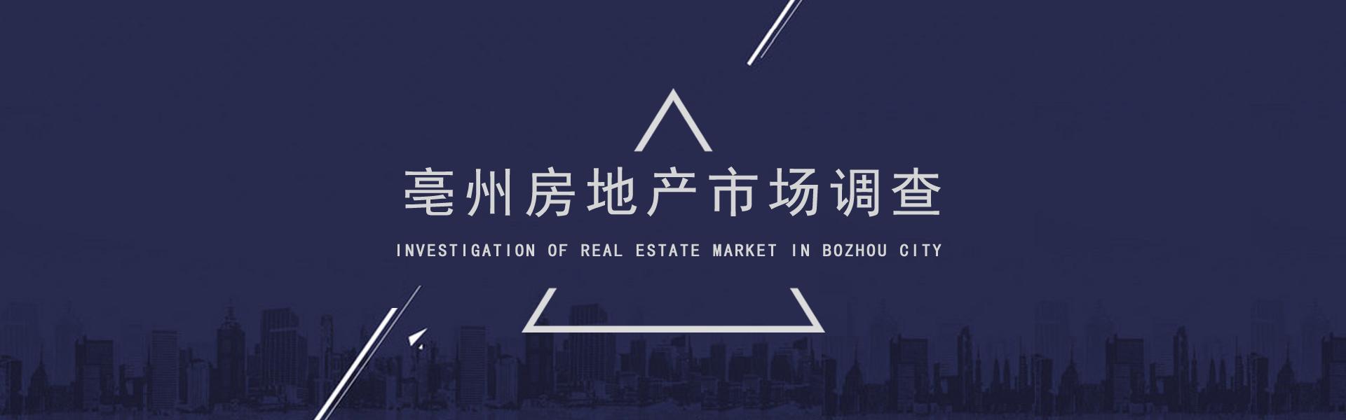 亳州房地产市场调查问卷