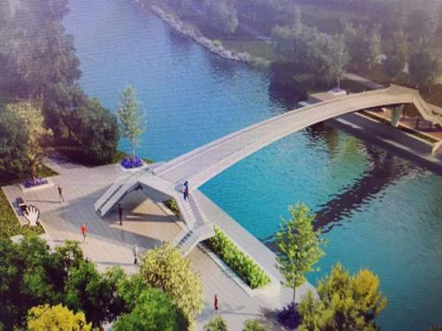 休宁路西延工程年底有望开工 匡河上方将架设一座人行景观桥