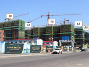 置地皖江府一期 5月工程进度 景观示范区开放