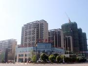 皖投天下名筑 5月工程进度 临街商铺建设中