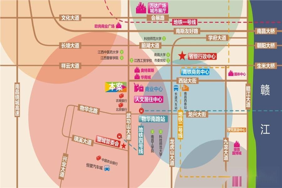 绿创中心 交通图