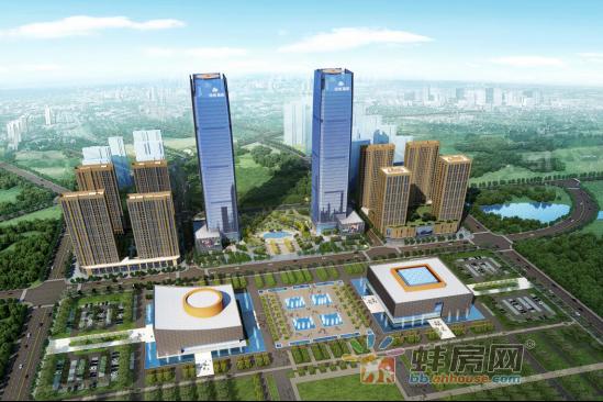 蚌埠滨湖未来发展惊人 绿地中央广场领新腾飞