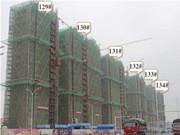 碧桂园凤凰湾 5月工程进度 项目主体建设中