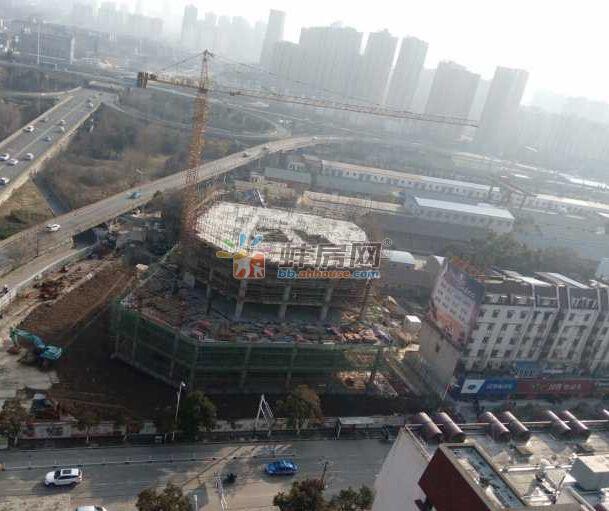 蚌埠淮河路南约8.6亩商业地案名公布:融创大厦