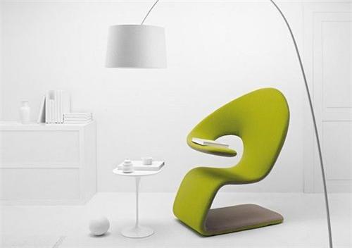 ALEAF休闲椅  一片绿叶的创意