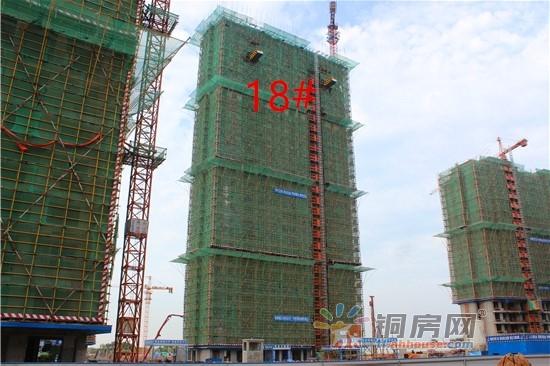 淮矿·东方蓝海7月最新工程进度呈现