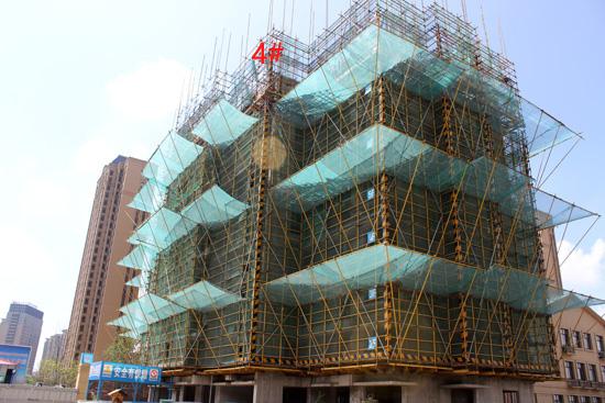 滨湖龙川里:一期四栋高层在建 进度较快